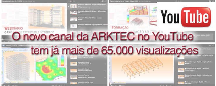 Canal YouTube Arktec