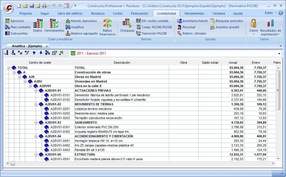 Arktec s a software para arquitectura ingenier a y - Como hacer presupuesto de obra ...