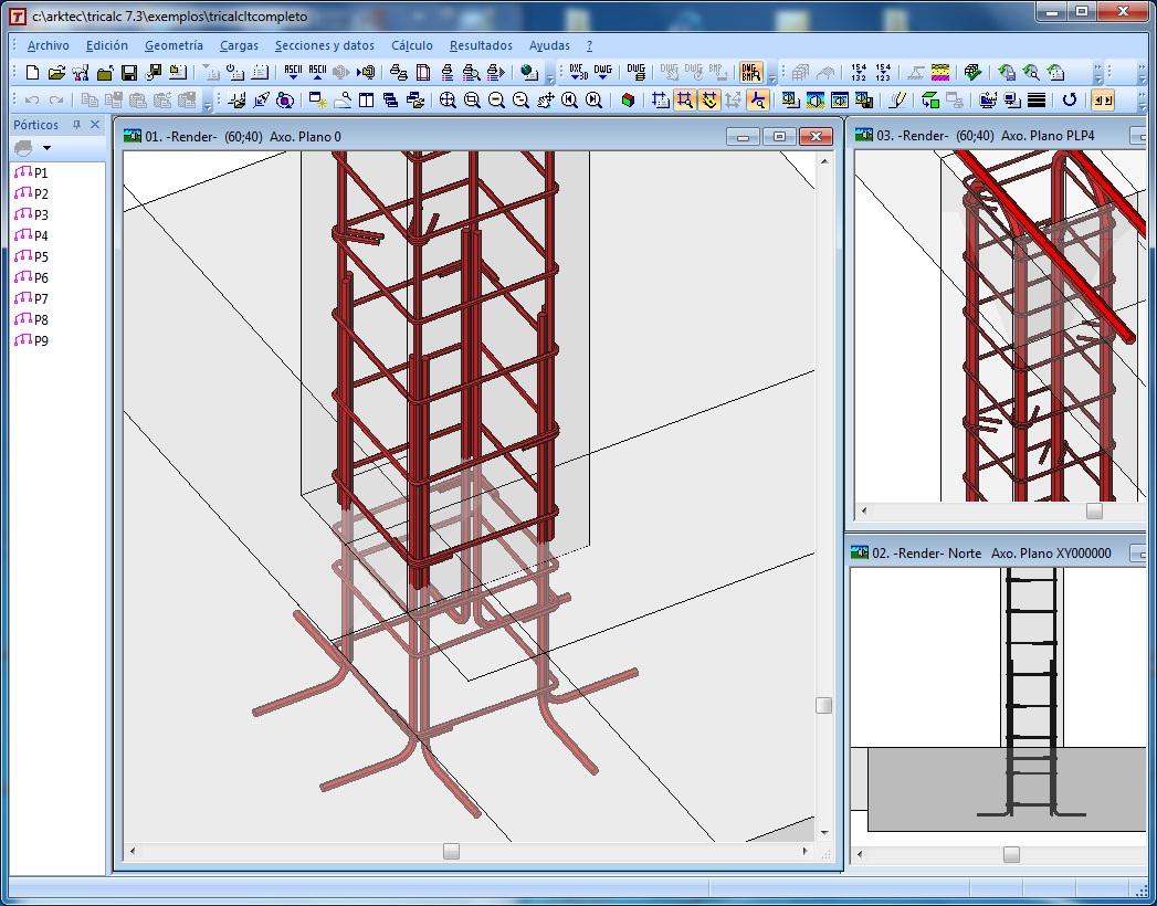 Arktec s a software para arquitectura ingenier a y for Programas de arquitectura 3d