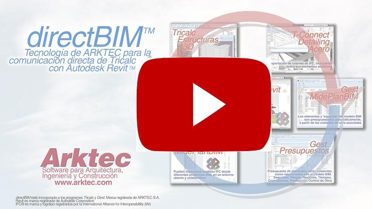 directBIM, comunicación directa con Autodesk Revit