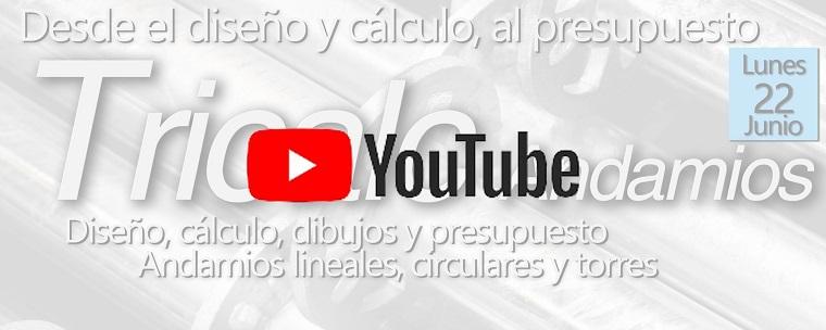 VIDEO de Webinario Tricalc Andamios - El ciclo completo para diseño, presupuesto y cálculo de Andamios