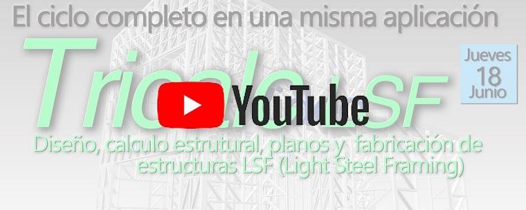 VIDEO de Webinario Tricalc LSF