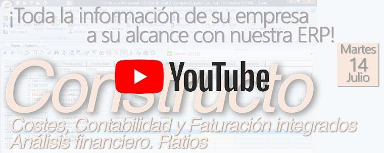 VIDEO de Webinario ERP-Constructo Gestión Inegrada de empresas